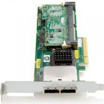HP Smart Array P411 / 1GB with Flash BWC Controller RAID 011+055+0 (8 link: 2 ext (SFF8088) ports SAS) PCI-E x8 incl. h / h   f / h. brckts
