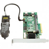 HP Smart Array P410 / 512 MB with Flash BWC Controller RAID 011+055+0 (8 link: 2 int (SFF8087) ports SAS) PCI-E x8 incl. h / h   f / h. Brckts replace 462864-B21