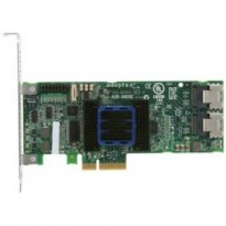 Adaptec ASR-6805E (PCI-E v2 x4 LP) KIT SAS 6G RAID 01101E 8port(int2*SFF8087) 128Mb onboard Каб.(2шт10432)