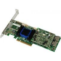 Adaptec ASR-6405 (PCI-E v2 x8 LP) SGL SAS 6G RAID 01105650 4port(intSFF8087) 512Mb onboard Каб.отдельно