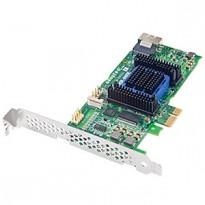 Adaptec ASR-6405E (PCI-E v2 x1 LP) KIT SAS 6G RAID 01101E 4port(intSFF8087) 128Mb onboard Каб.(1шт10432)