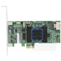 Adaptec ASR-6405E (PCI-E v2 x1 LP) SGL SAS 6G RAID 01101E 4port(intSFF8087) 128Mb onboard Каб.отдельно