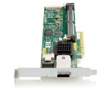 HP Smart Array P212 / ZM (Zero Memory) Controller RAID 011+0 (8 link: 1 int (SFF8087) 1 ext (SFF8088) ports SAS) PCI-E x8 incl. h / h   f / h. brckts