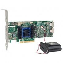 Adaptec ASR-6805Q (PCI-E v2 x8 LP) SGL SAS 6GRAID 011056508port(int2*SFF8087)512MbmaxCacheAFM в компл Каб.отдельно