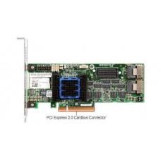 Adaptec ASR-6805 (PCI-E v2 x8 LP) SGL SAS 6G RAID 011056508port(int2*SFF8087) 512Mb onboard Каб.отдельно