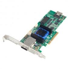 Adaptec ASR-6445 (PCI-E v2 x8 LP) SGL SAS 6G RAID... 8port(intSFF8087+extSSF8088) 512Mb Каб.отдельно