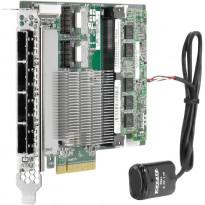 HP SAS Controller Smart Array P822 / 2GB FBWC / 6Gb / 2-ports Int(Mini-SAS 4i) / 4-ports Ext(Mini-SAS 4x) / PCIe3 / Full-height half-length